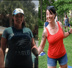 Michelle lost 26lbs & ditched low carb & low calorie diets!
